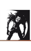 Sticker Death Note Ryuk