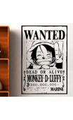 Sticker One Piece Luffy