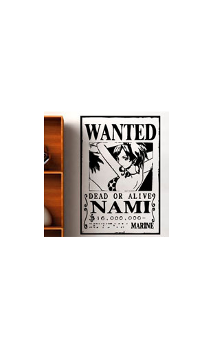 Sticker One Piece Nami
