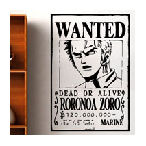 Sticker One Piece Zoro
