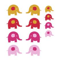 Kit Sticker éléphants