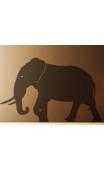 Sticker éléphant silhouette