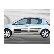 Sticker voiture Bandes racing 1