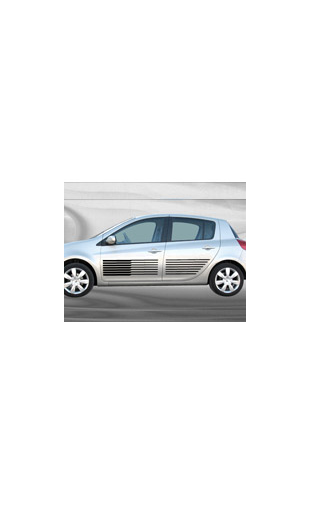 Sticker voiture Bandes racing 1