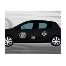 Sticker voiture Tourbillons