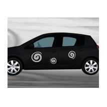Sticker voiture Tourbillons