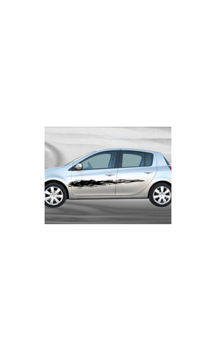 Sticker voiture Eraflure