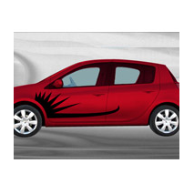Sticker voiture Design 1