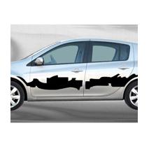 Sticker voiture Urban Art