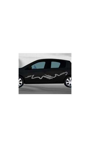 Sticker voiture Fashion