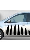 Stickers voiture Zèbre