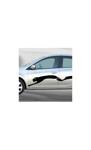 Stickers voiture Puma