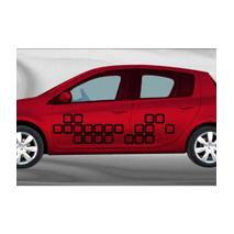 Sticker voiture Tetris1
