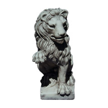 Sticker statue lion