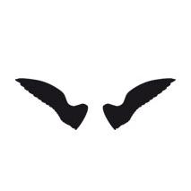 sticker aile ange