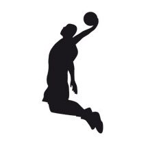 Sticker basket slamdunk
