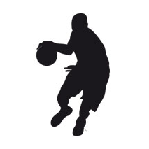 Sticker basketball