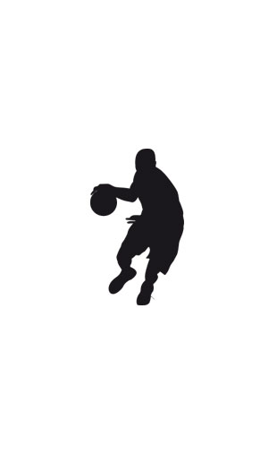 Sticker basketball