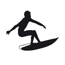 Sticker surf 5