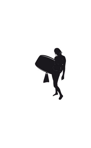 Sticker bodyboard