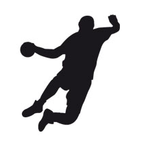 Sticker handball 1