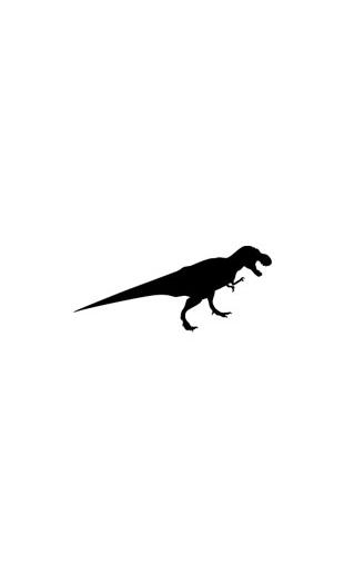Sticker tyranosaure