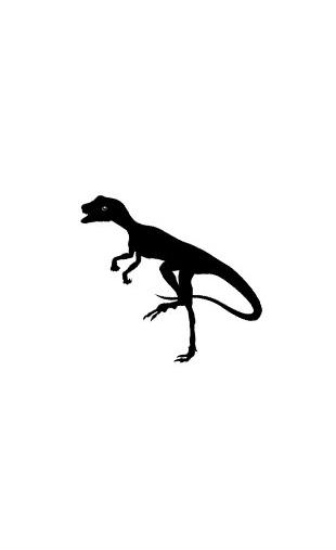Sticker dinosaure