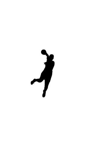 Sticker Joueuse Handball