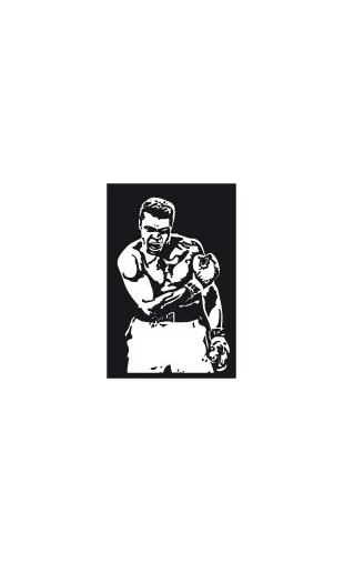 Sticker Boxeur