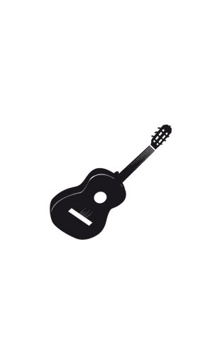 Sticker Guitare Acoustique