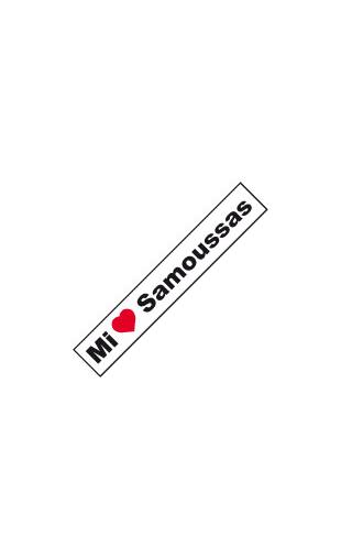 Sticker Samoussa La Réunion