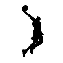 sticker basket ball