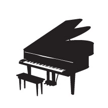 Sticker Piano