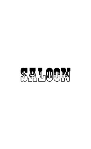"Sticker ""SALOON"""