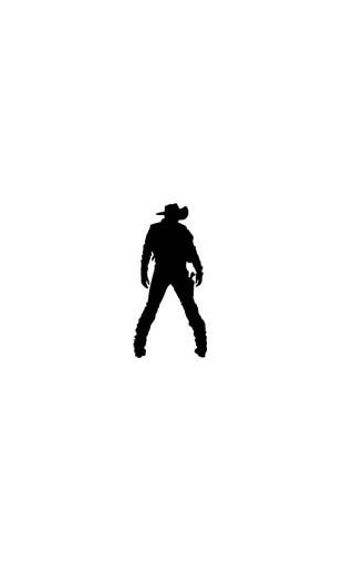 Sticker Lucky Cowboy