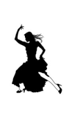 Sticker danse flamenco