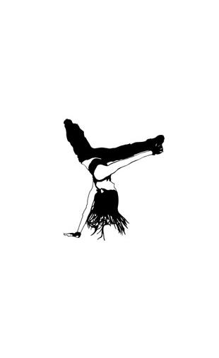 sticker danse moderne