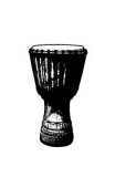 Sticker djembe