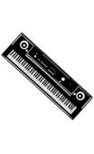 Sticker clavier numérique