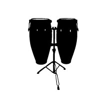 Sticker Congas