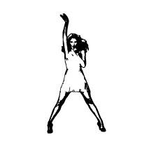 Sticker chanteuse 3