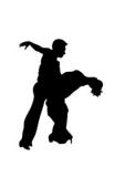 Sticker danse salsa