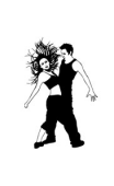 Sticker danseurs sexy