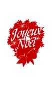 sticker fêtes joyeux noel