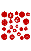 Sticker Kit Boules de Noël